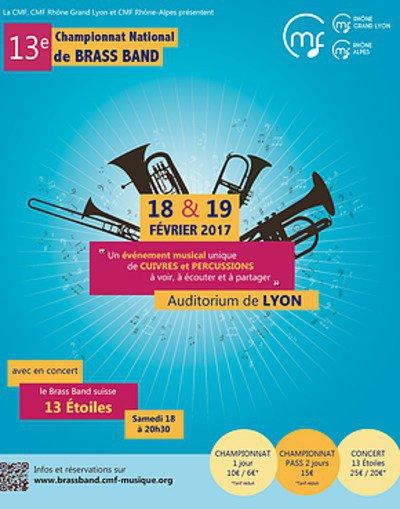 13e Championnat National de Brass Band