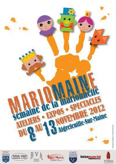 """festival de marionnettes """"mariomaine"""""""