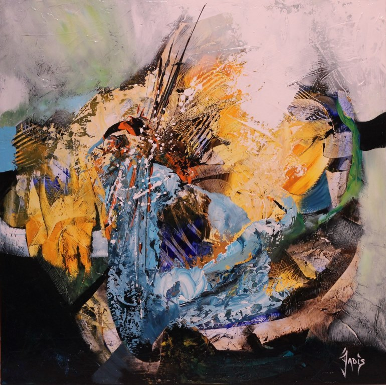 Jadis artiste peintre abstrait anjoutey 90170 for Artiste art abstrait
