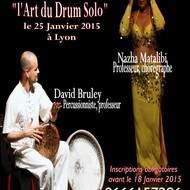 Stage danse orientale et percussion live à Lyon