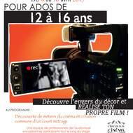 Stage de cinéma pour jeunes à Liège
