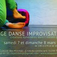 Stage Danse Improvisation