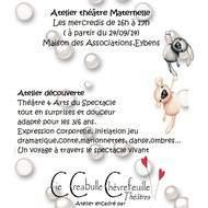 Atelier théâtre Maternelle