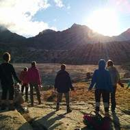 stage de qi gong  dans les Pyrénées