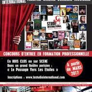 Concours d'Entrée en Formation Professionnelle STUDIO International