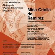Concert de musique latino–américaine - Misa Criolla de Ramirez