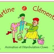 Tartine et clémentine, duo de clowns déambulatoire