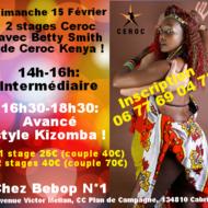 Stage Ceroc Modern Jive: Style Kizomba !