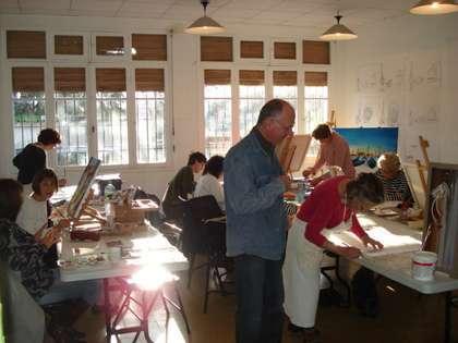cours de dessin et peintures