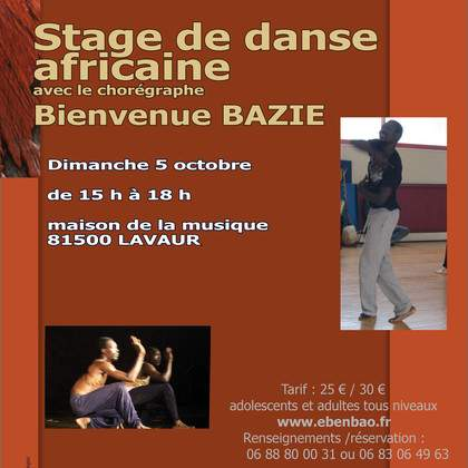 Danse africaine et afro contemporaine
